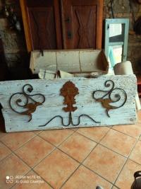 Pannello d'arredo in legno